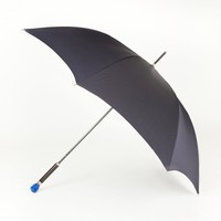 Alexander McQueen Men's Blue Skull Umbrella