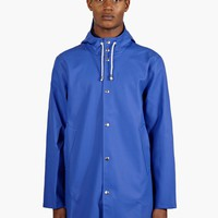 Stutterheim Men's Navy Stockholm Raincoat