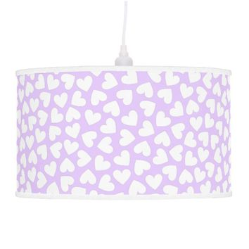 White Hearts Lamp
