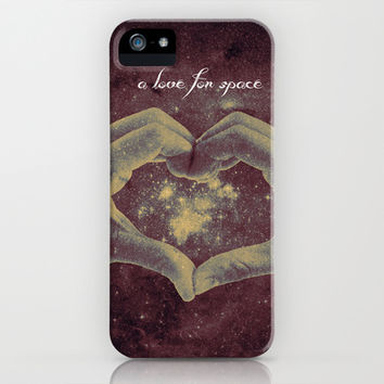 a love for space iPhone & iPod Case by Timothy Davis