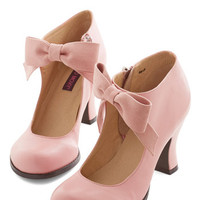 ModCloth Darling Saturday Strut Heel in Pink