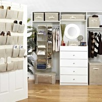 Natural Faux Jute Closet Collection