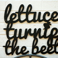 Lettuce Turnip the Beet by spunkyfluff on Etsy