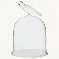 Bird Finial Cloche