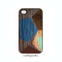 GeoEthnic Design 017 iphone 4 case Choose Black by wallsparks