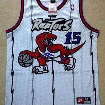 Vince Carter 15 Toronto Raptors Swingman Vince Carter NBA Basketball Jersey