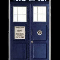 (Any) Phone Skin: Tardis  by Caffrin25 on Etsy