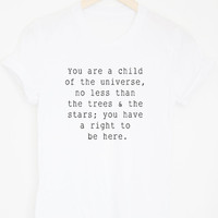 Child of the Universe Tee