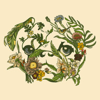 Botanical Pug Art Print by Huebucket | Society6