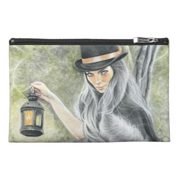 Last candle dark lady gothic wrislet bag