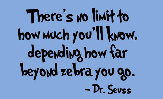 Dr. Seuss Quotes On Math and Science