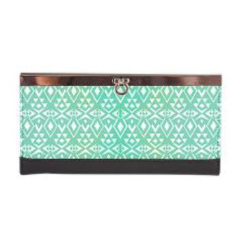 Ancient Tribe Clasp Wallet> Pom Graphic Design