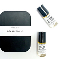 Beard Tonic. Beard Oil. Father's Day Gift. Sampler. Gift Set. Black Tin. Mens Skin Care. Gift Set.