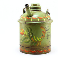Vintage Gasoline Can Eagle Gas Can by TimelessFindsVintage on Etsy