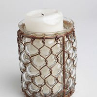 Summertime Glass Candle Holder