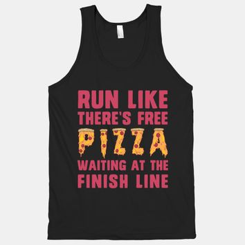 Run Like There's Free Pizza