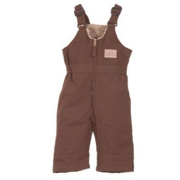C.E. Schmidt® Infant Sanded/Washed Duck Quilt-Lined Insulated Bib Overall