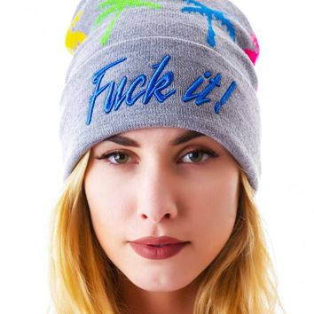 HUF Spring Break Beanie | Dolls Kill