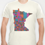 Minnesota T-shirt by Romi Vega | Society6