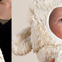 The Green Head - Baby Lamb Blanket
