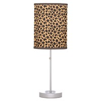 Cheetah Print Lamp