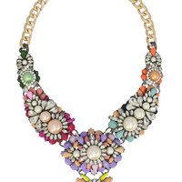 Swept Away to Paris Statement Necklace