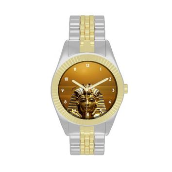 Egypt King Tut Two Tone Watch