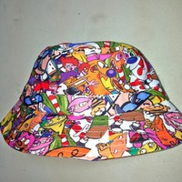 SWEET LORD O'MIGHTY! MA FAV CARTOON BUCKET HAT