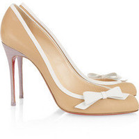 Christian Louboutin|Beauty 100 leather pumps|NET-A-PORTER.COM