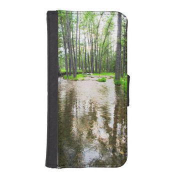 Water iPhone 5/5s Wallet Case
