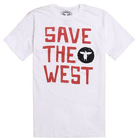Topo Ranch Save The West T-Shirt - Mens Tee - White -