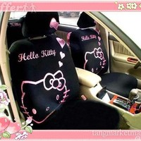 10pcs KT NEW Hello Kitty in LOVE Car Seat Cover for sale