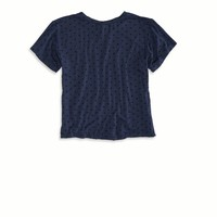 CROPPED T-SHIRT MADE IN ITALY BY AEO