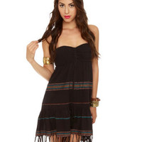 Billabong Stompless Beat Dress - Bandeau Dress - Strapless Dress - $54.00