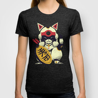 fortune pizza cat T-shirt by Louis Roskosch | Society6