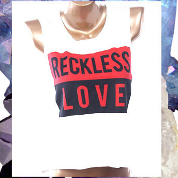 RECKLESS LOVE CROP TOP | Paper Kranes