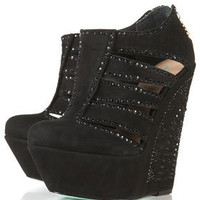 **LADY MAMA Crystal Booties by CJG - View All  - Shoes  - Topshop