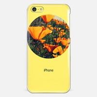 California Poppy iPhone 5c case by DuckyB | Casetify