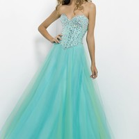 Blush Prom 9759 Beaded Ball Gown Website Special