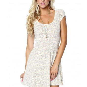 Cutout & About Dress Floral