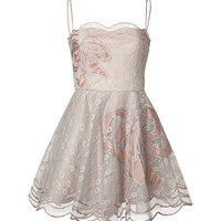 RED Valentino - Organza Strapless Bow Dress