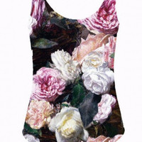 Pink Flowers Swimsuit
