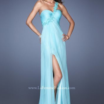La Femme 19793 Flirty One Shoulder