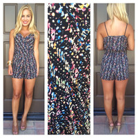Ink Blot Romper