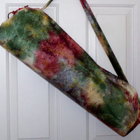 Yoga Mat Bag Pilates Yoga Duffel Bag  Handmade Sports Bag, Choose Dimensions for your Yoga Mat