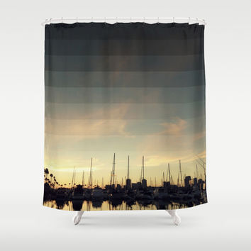 Fading Skies Shower Curtain by RichCaspian | Society6