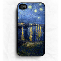 Starry Night  Van Gogh iPhone Hard Case / Fits iPhone 4 by CRAFIC