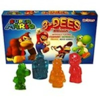 Super Mario 3D Gummy Regular 2.25 Ounce Theater Size Pack 1 Box