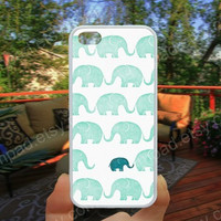 Elephant case  iphone 4/4s case iphone 5/5s/5c case samsung galaxy s3/s4 case galaxy S5 case Waterproof gift case 509