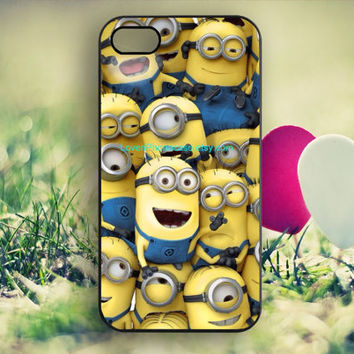 Despicable Me iPhone case,iPhone 4/4S case,Cat iPhone 5/5S case,iPhone 5C case,Samsung Galaxy S3/S4/S5,iPhone 4S Cover,skins-L18